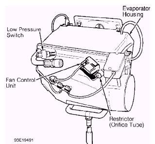 где находится датчик температуры g110 audi a6 c4