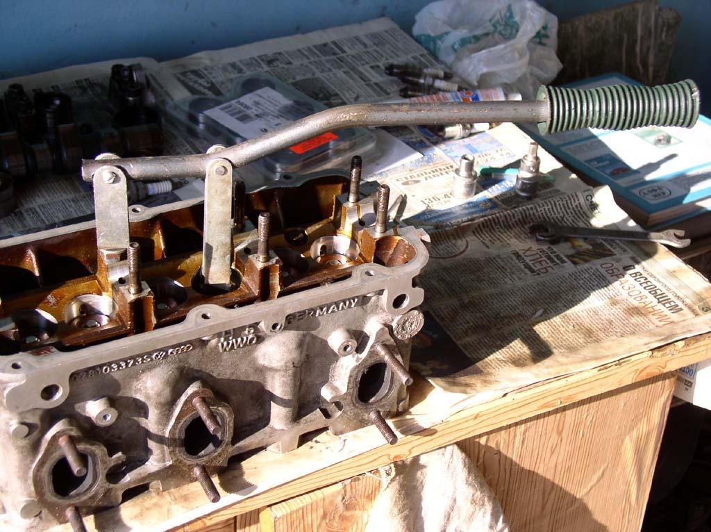 Ремонт двигателя пассат б4 своими руками